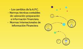 LOS CAMBIOS DE LA A, P, C.