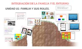 INTEGRACIÓN DE LA FAMILIA Y EL ENTORNO