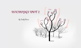 Psychology revison unit 2