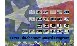 Texas Bluebonnet Award Program