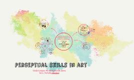 Perceptual skills in art