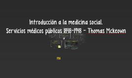 Introducción a la medicina social.