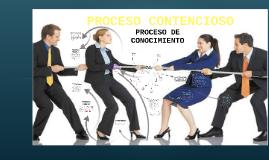 PROCESO CONTENCIOSO