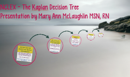 Copy of Copy of NCLEX - The Kaplan Decision Tree