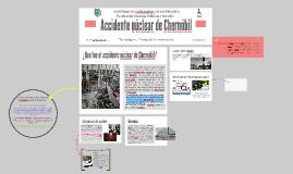 Accidente núclear de Chernóbil