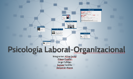 Copy of Psicología Laboral-Organizacional