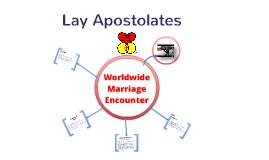 Lay Apostolates: WWME