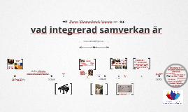 NVSams historia om integrerad samverkan