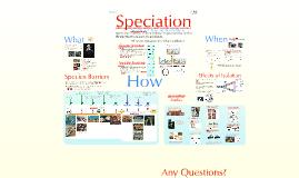 Evolution:  Speciation