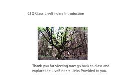 LiveBinders Introduction