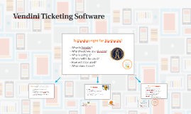 Copy of Vendini Ticketing Software