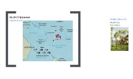Arabella's Fiji Journal 2013
