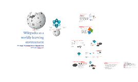 Wikipedia as a worldly learning environment
