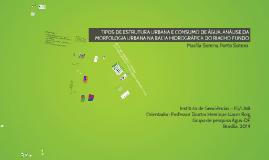 Copy of TIPOS DE ESTRUTURA URBANA E CONSUMO DE ÁGUA,ANÁLISE DA MORF