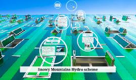 Copy of Snowy Mountains Hydro scheme