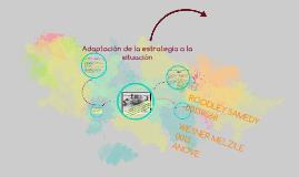 Copy of Adaptacion de la estrategia a la situacion