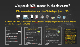 Copy of Why should ICTs be used in the classroom?