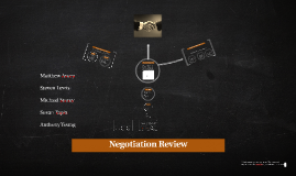 Negotiation Review