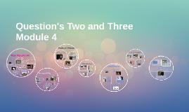 Kelsey&Paige Module 4 Question2&3 PROJECT