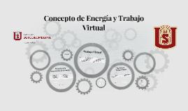 Concepto de Energia y Trabajo Virtual