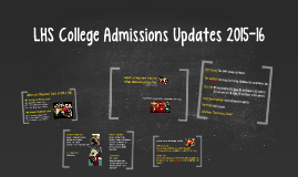 Trends in College Admissions Parent Presentation