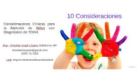 Taller: Consideraciones Clínicas en la Atención Psicológica del TDAH