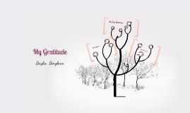 My Gratitude