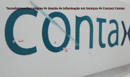 Copy of Tecnologias e Estratégias de Gestão da Informação em Serviço