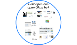 How open can open Glam be?