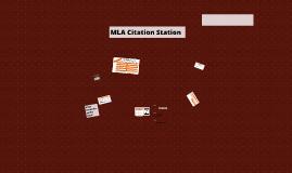 MLA Citation Station