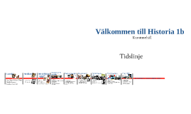 Översikt & Introduktion Historia 1b