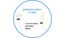 polluted waters