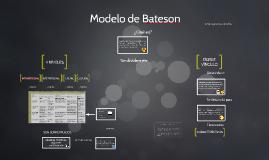 Modelo de Bateson