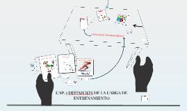 Copy of CAP. 5 DEFINICION DE LA CARGA DE ENTRENAMIENTO