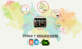 HTML5 Y dREAMWEAVER
