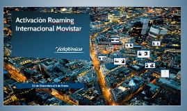 Copy of Activación Roaming Internacional Movistar