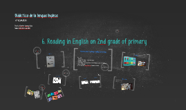 Copy of Reading in English