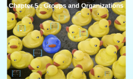 Chapter 5 : Groups and Organizations