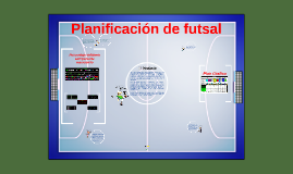 Planificación de futsal 2