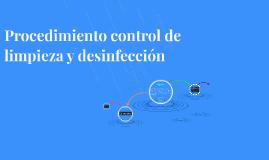 PAC Control de Limpieza y desinfección