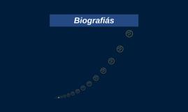 Copy of Biografiás