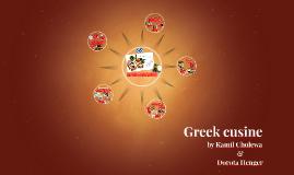 Greek cusine