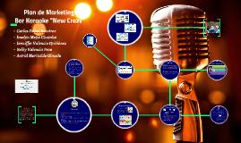 "Plan de Marketing - Bar Karaoke ""New Crazy"""