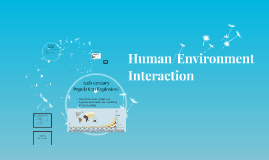 Human/Environment Interaction