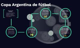 Copy of Copa Argentina de fútbol