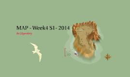 MAP - Week4 S1- 2014