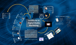Certificate in Digital Media Marketing UMSL