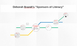 "Deborah Brandt's ""Sponsors of Literacy"""