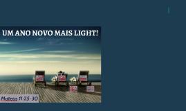 UM ANO NOVO MAIS LIGHT
