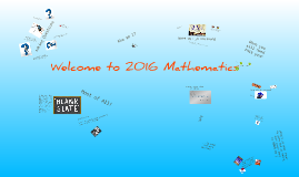 Welcome to 201 Mathematics